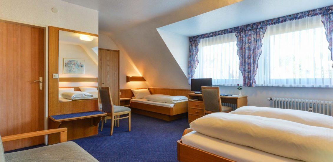 Hotel 3-Bett Zimmer